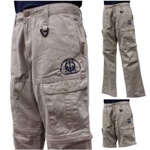 Pantalone e Bermuda multitasche 2 in 1