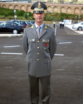 Primo comando per Fabio Boerner (Perseus 2001-'04)