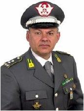 Il Gen. C.A. (GdF) D.Caprino al Comando Interregionale N.O.