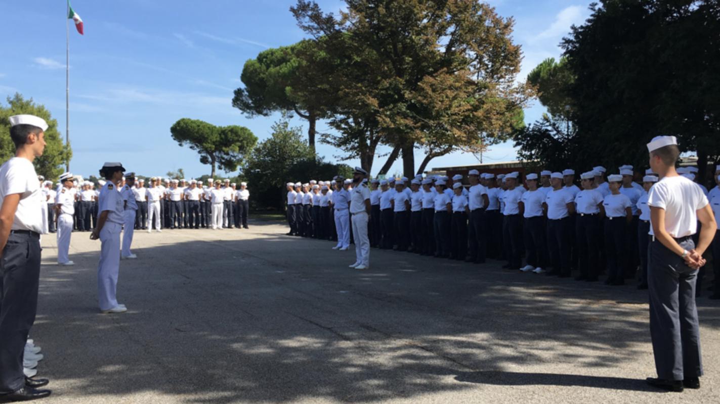 Inizia l'anno scolastico per gli allievi della Scuola Navale Militare Francesco Morosini